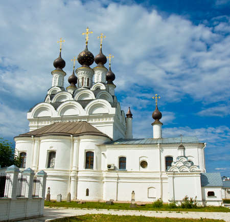annunciation: Annunciation cathedral of Annunciation orthodox monastery in Murom, Russia,