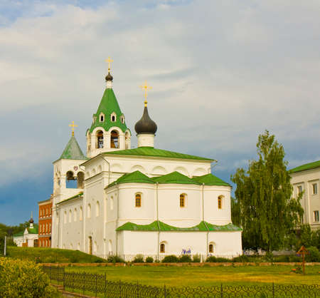 transfiguration: Intercession cathedral of Transfiguration of Jesus Christ monastery in town Murom, Russia.
