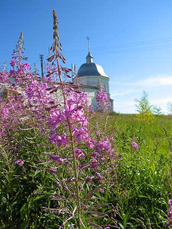 surrounding wall: Historical town Pereslavl-Zalesskiy in Russia, Uspenskiy-Goritskiy monastery, tower of surrounding wall. Editorial