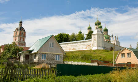 Assumption Goritskiy monastery in town Pereslavl-Zalesskiy, Russia.