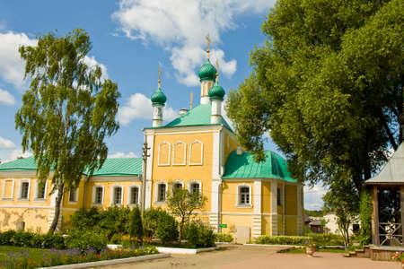 'saint nicholas': Annunciation church in orthodox Saint Nicholas convent in town Pereslavl - Zalesskiy, Russia.