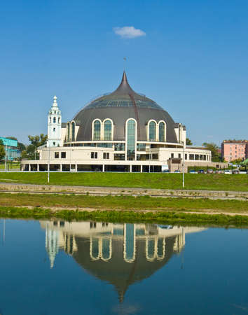 buiding: Buiding of Museum of Weapons in town Tula, Russia. Stock Photo