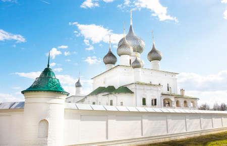 uglich russia: Resurrection of Jesus Christ monastery in town Uglich, Russia.