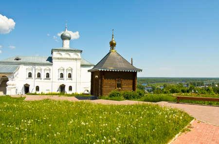 nicholas: Orthodox St. Nicholas monastery in town Gorohovets in Russia.