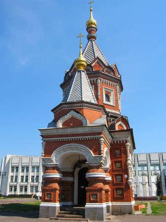 alexander: Chapel of Alexander Nevskiy in historical town Yaroslavl in Russia.
