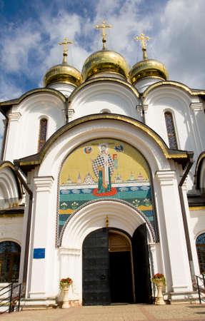 nicholas: Saint Nicholas cathedral of Saint Nicholas convent in town Pereslavl-Zalessky, Russia.