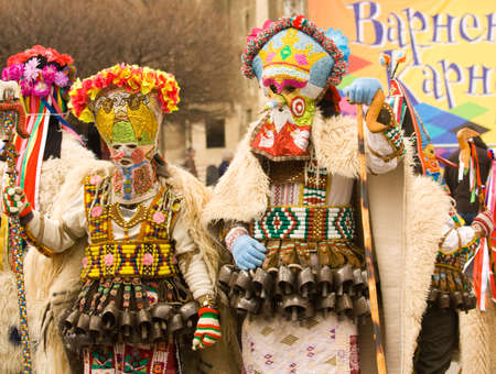 puppetry: VARNA, BULGARIA - MARCH 26, 2016: carnival devoted to the World Puppetry Day.