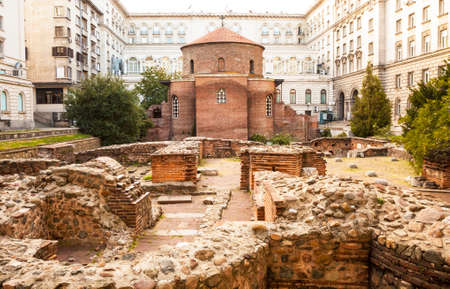 Sofia, capital of Bulgaria Stock Photo