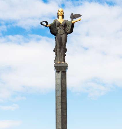 Monument of Saint Sofia in capital of Bulgaria Sofia.