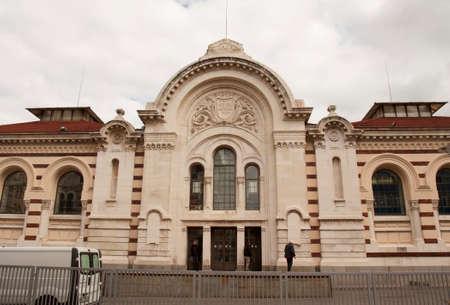 SOFIA, BULGARIA - OCTOBER 09, 2017: Central market, build in 1911