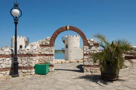Summer theater on Golden Sands resort, Golden Sands, Varna, Bulgaria
