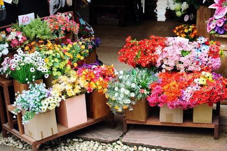 fresh flowers. photo