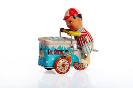 windup: old toys Stock Photo