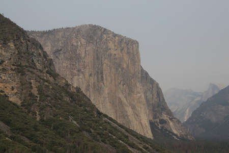 El Capitan in Yosemite National Park, USA