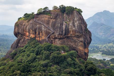 Close up on Sigiriya Rock Stockfoto