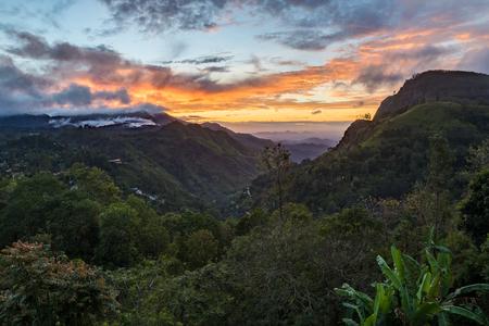 Ella Gap while sunrise