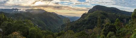 Panoramic view on Ella Gap