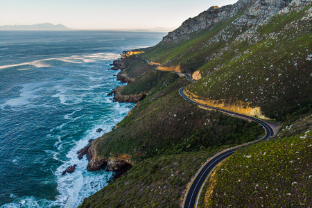 A winding road in the Cape of South Africa