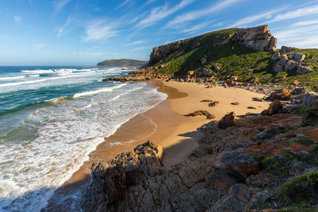 A beach on the Robberg Nature Reserve in South Africa Stockfoto