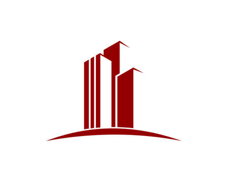 Real Estate , Property and Construction Logo design for business corporate sign Vectores