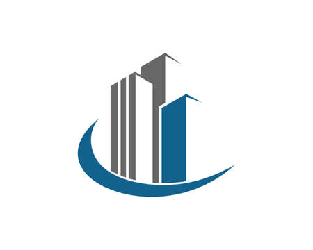 Real Estate , Property and Construction Logo design for business corporate sign 일러스트