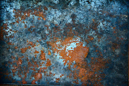 Rusty surface Grunge  metal can be used as background photo