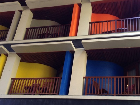 verandas: colourful verandas