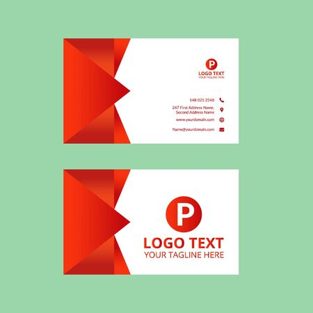 Red Awesome Business Card