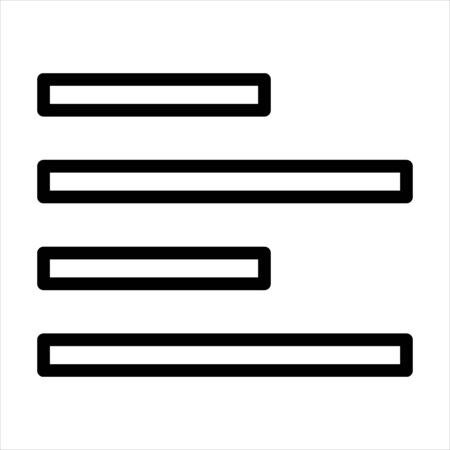 Align, alignment, justify, left, paragraph, text icon