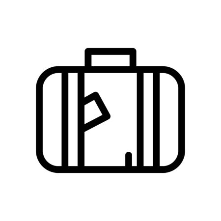 Bag Travel Icon Illustration Design