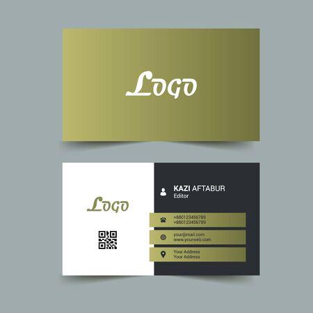 Olive Business Card Design Template