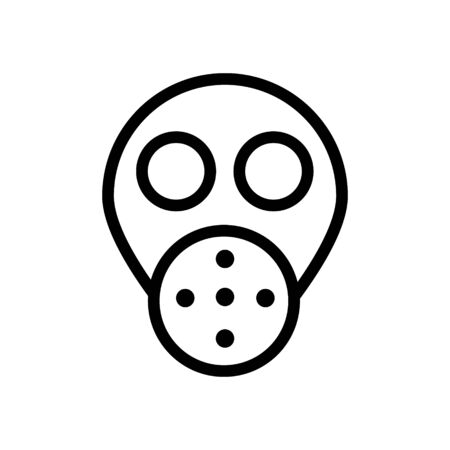 Crime Mask icon Illustration Design