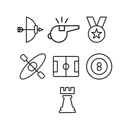 Sports Football Field Icon Design Ilustração