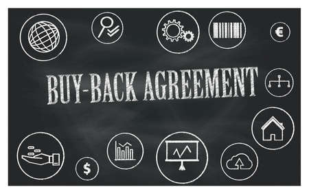 buy-back agreement 免版税图像