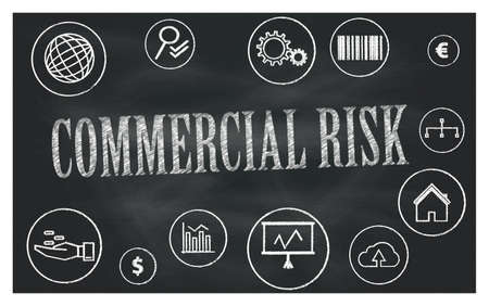 commercial risk 免版税图像