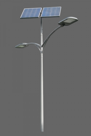 lighting system: Solar powered street light