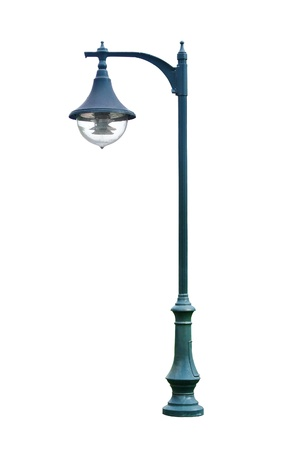 streetlamp: Lamp posts isolated on white background