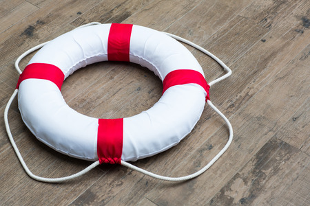 buoy: Ring buoy security  and rope