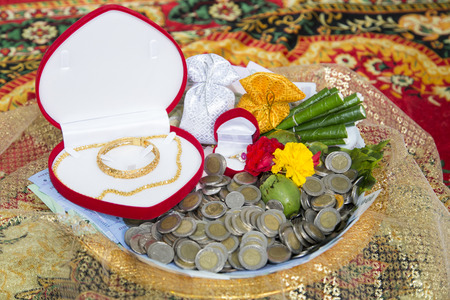 dowry: Thai Wedding Style . One of Important culture in Thailand