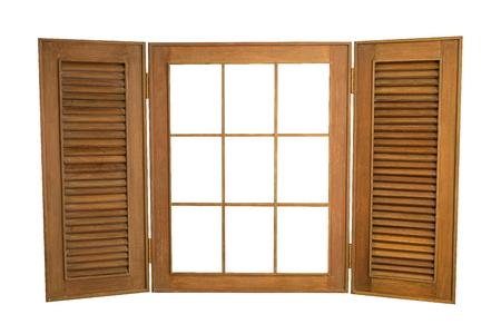 Wood Window Stock Photos. Royalty Free Wood Window Images