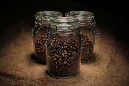 variety of roasted arabica and robusta coffee beans from Indonesia