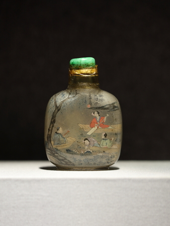 snuff: Snuff bottle, antique