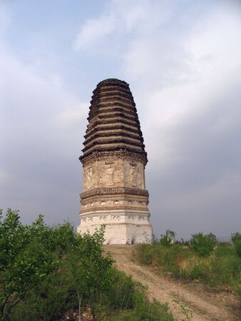 Pagoda landscape view