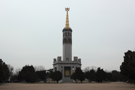 architecture monumental: Lushun Soviet victory Tower