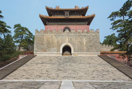tumbas: Western Qing Tumbas, edificio Tai Ling Ming Editorial
