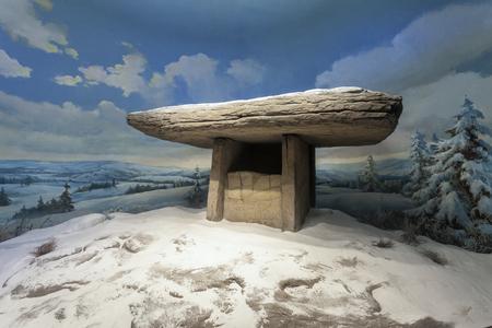 Stone shed model in Haicheng Publikacyjne
