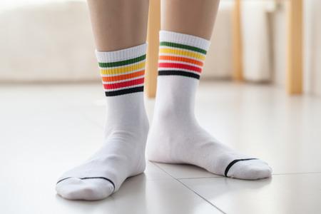 mens Sock Zdjęcie Seryjne
