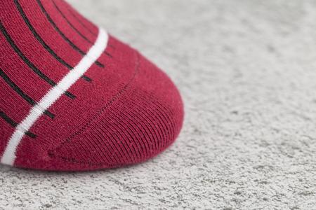 red Sock Zdjęcie Seryjne