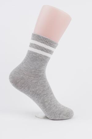 grey sock Zdjęcie Seryjne