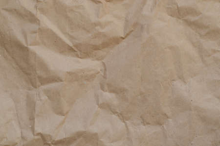 brown scrumpled, wrapping paper background texture
